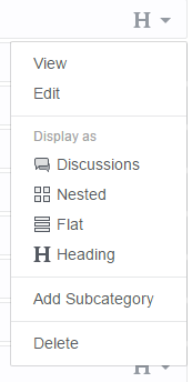 "The ""Display As"" options."