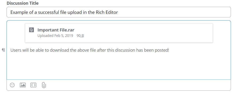 Successful File Upload